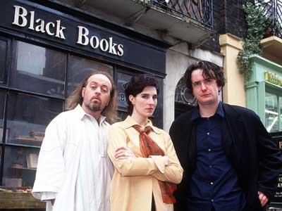 Lumière sur les comédies anglaises ... Blackbooks1
